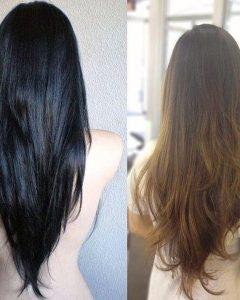 Long Hairstyles V Cut