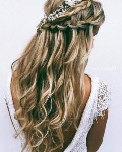 Long Hairstyles Bridesmaid