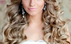 Long Hairstyles Curls Wedding