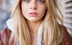 Middle Parting Hairstyles For Long Hair