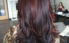 Long Hairstyles Red Highlights