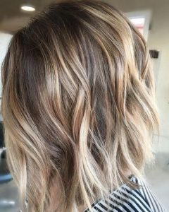 Short Hairstyles With Balayage