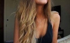 Long Hairstyles Dip Dye