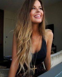 Long Hairstyles Dip Dye