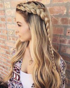 Cute Braiding Hairstyles for Long Hair