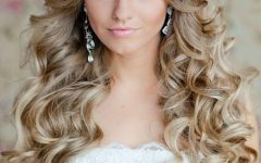Curly Hairstyles for Weddings Long Hair