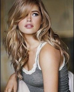 Dark Blonde Long Hairstyles