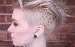 Edgy Short Haircuts for Thick Hair