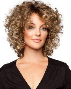 Short Fine Curly Hair Styles