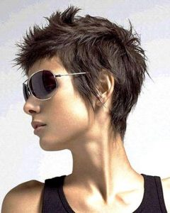 Funky Short Haircuts For Fine Hair