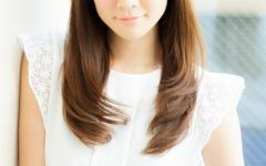 Asian Hairstyles with Side Bangs