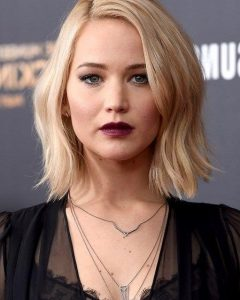 Jennifer Lawrence Short Bob Haircuts