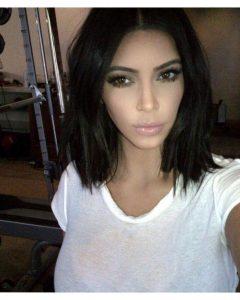 Kim Kardashian Short Haircuts