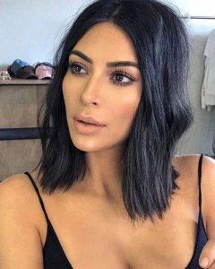 Kim Kardashian Short Hairstyles