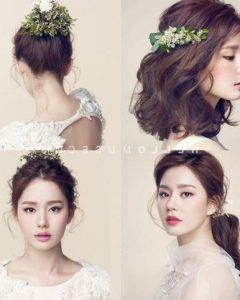 Korean Hairstyles For Wedding