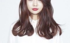Korean Haircuts Styles for Long Hair