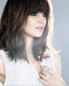 Long Bob Hairstyles With Fringe