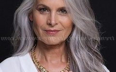 Long Hairstyles Grey Hair