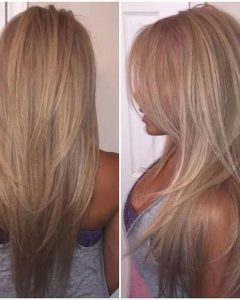 Long Hair With Short Layers Hairstyles
