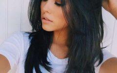 Long Layered Black Hairstyles
