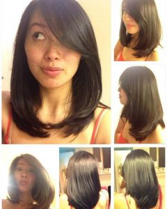 Related About Asian Medium Length Layered Hairstyles