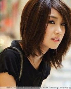 Asian Hairstyles With Medium Length