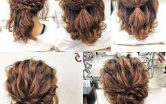 Medium Long Updos Hairstyles