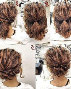 Medium Long Updos Hairstyles