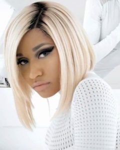 Nicki Minaj Short Haircuts