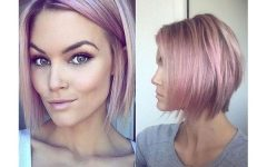 Pink Short Hairstyles