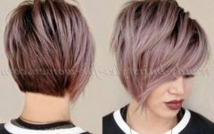 Asymmetrical Short Haircuts for Women