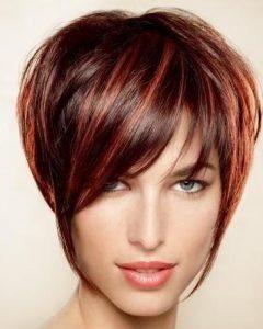 Auburn Short Hairstyles