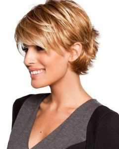 Short Hairstyles With Bangs For Fine Hair