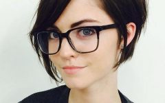 Short Haircuts with Glasses