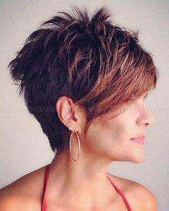 Short Haircuts With Longer Bangs