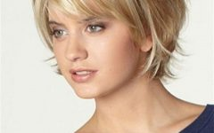 Short Haircuts with Bangs