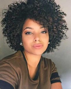 Naturally Curly Short Haircuts