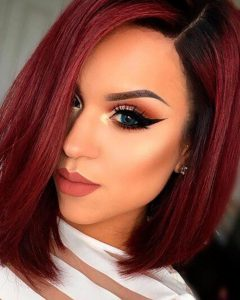 Short Hairstyles With Red Hair