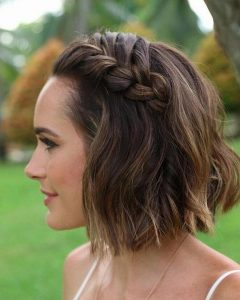 Hairstyles For Short Hair For Wedding