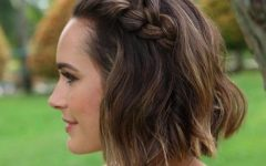 Hairstyle for Short Hair for Wedding