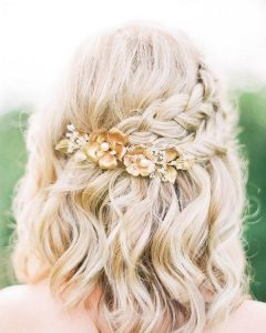 Cute Hairstyles For Short Hair For A Wedding