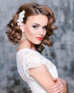 Wedding Hairstyles With Short Hair