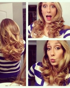 Long Hairstyles Using Hot Rollers