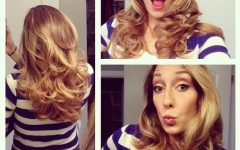 Long Hairstyles Using Rollers