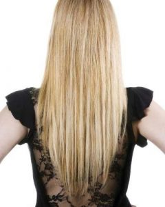 Long Hairstyles V Shape At Back