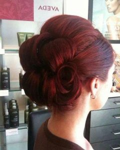 Vintage Updos Hairstyles For Long Hair