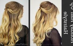 Beachy Half Ponytail Hairstyles