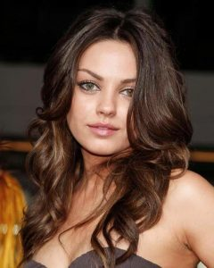 Curly Long Hairstyles For Round Faces