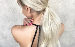 Embellished Drawstring Ponytail Hairstyles