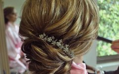 Fancy Chignon Wedding Hairstyles for Lob Length Hair